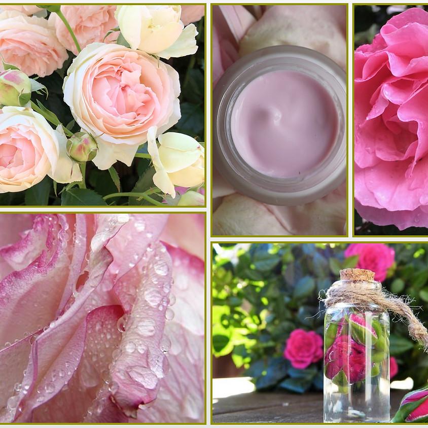 お肌が喜ぶ薔薇のスキンケア