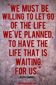 willing to let go