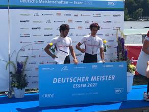 3x Gold, 3x Silber und 1x Vierter bei den Deutschen Meisterschaften 2021 in Essen!