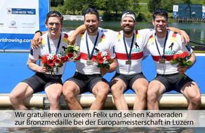 Europameisterschaft in Luzern - Bronze für Felix Wimberger