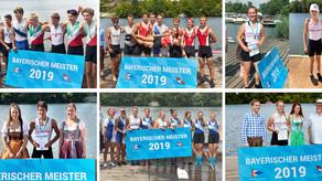 7x Gold, 5x Silber und 2x Bronze bei den Bayerischen Meisterschaften 2019 in Schweinfurt!