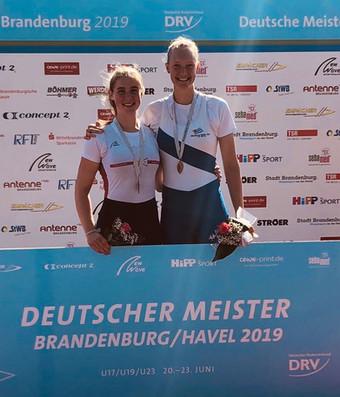 Gold für Emilia Fritz und Bronze für Linus Klein und Konstantin Grimm bei den Deutschen Meisterschaf