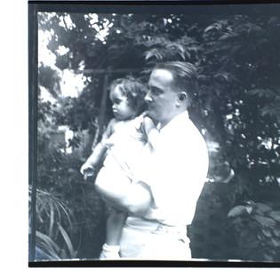 Father Bundi & son Tommy in Tel Aviv, 1939