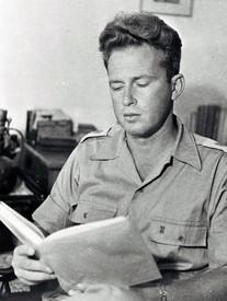 יצחק רבין במדי צבא ההגנה לישראל