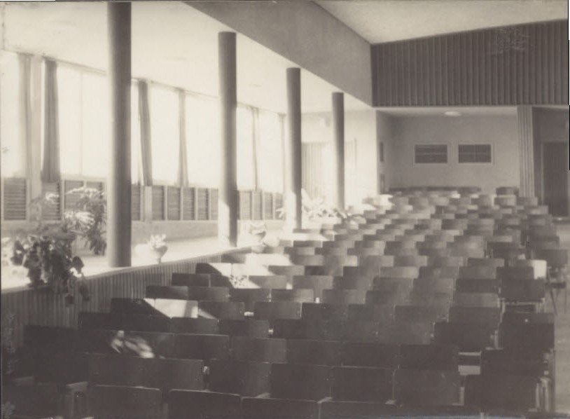 Interior of the Hall