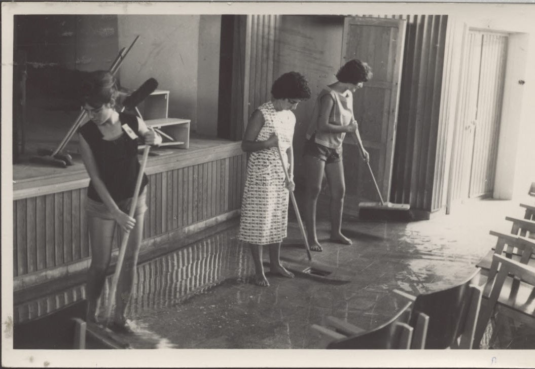 Cleaning the Hall