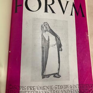 FORVM - Magazine Cover
