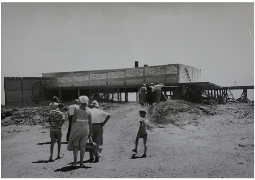 The Building During Construction