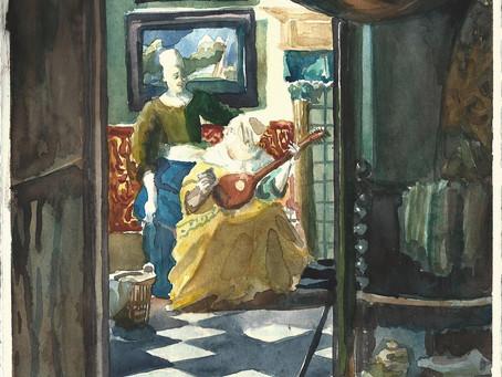 Vermeer on a Rainy day