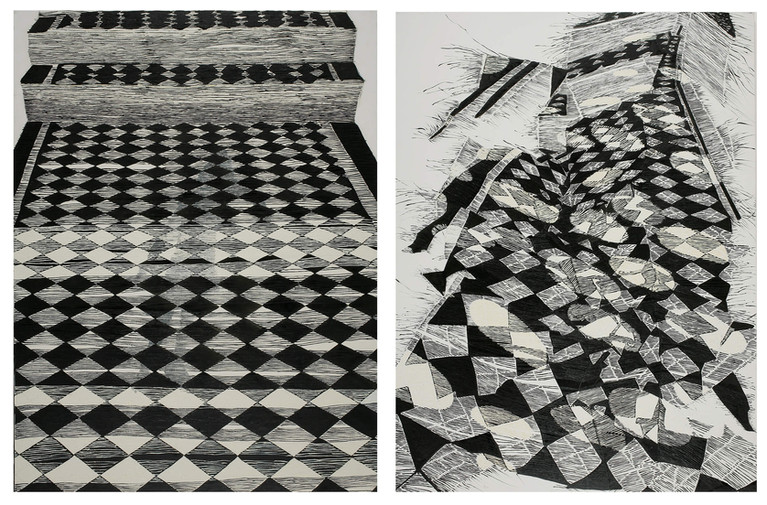 Diptych - Stairs III & VII