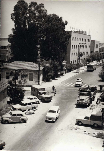 A View from The Histadrut Street