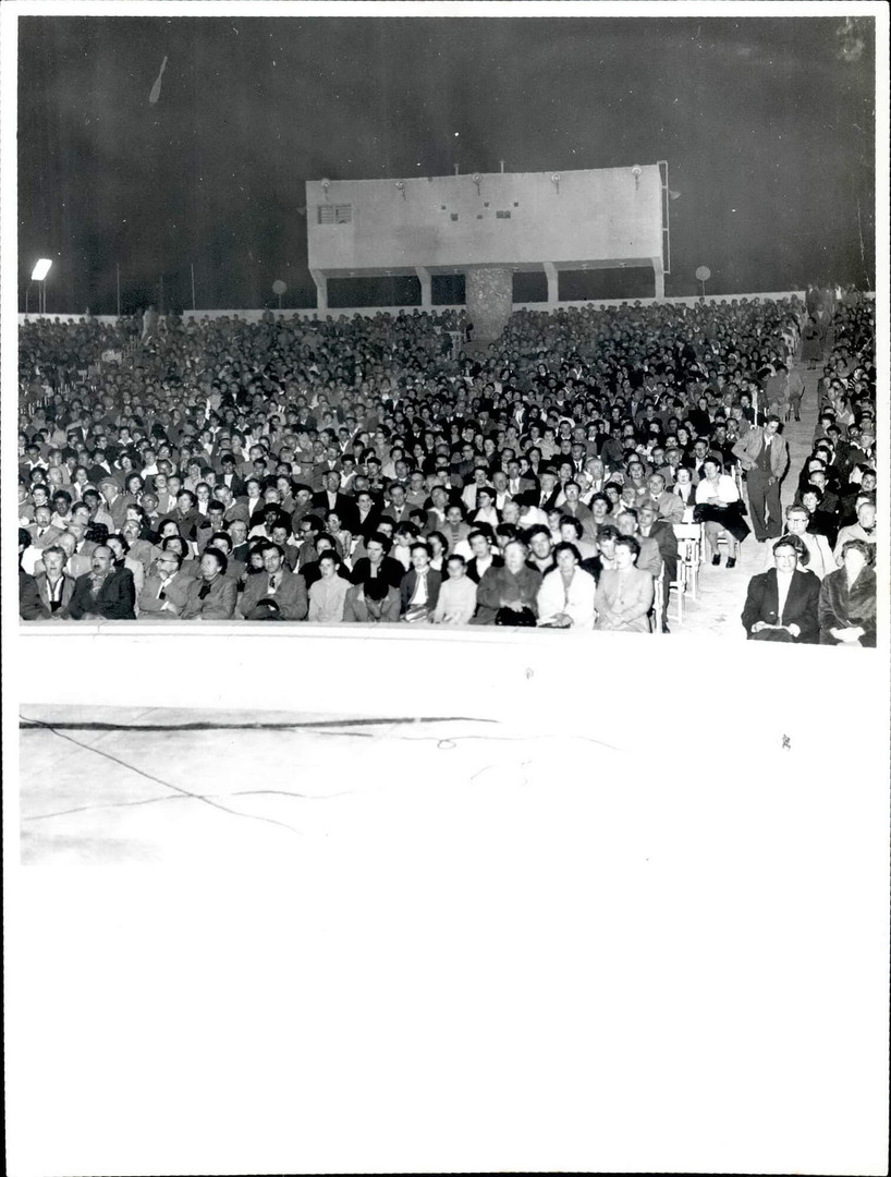 View of the Audience