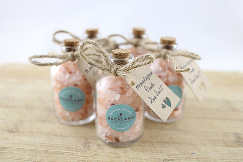 Himalayan Pink Sea Salt in a bottle