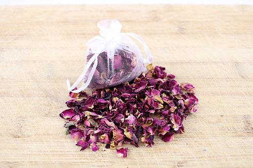 Bio-degradable Dried Rose Petals