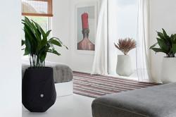 Bhaca XS White & Black Bedroom