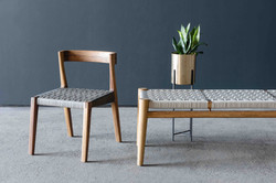 Nguni 3 Seater Odi Chair by Vogel