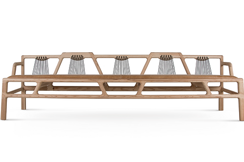 Joburg Bench 06 5 Seater by DAVID KRYNAUW