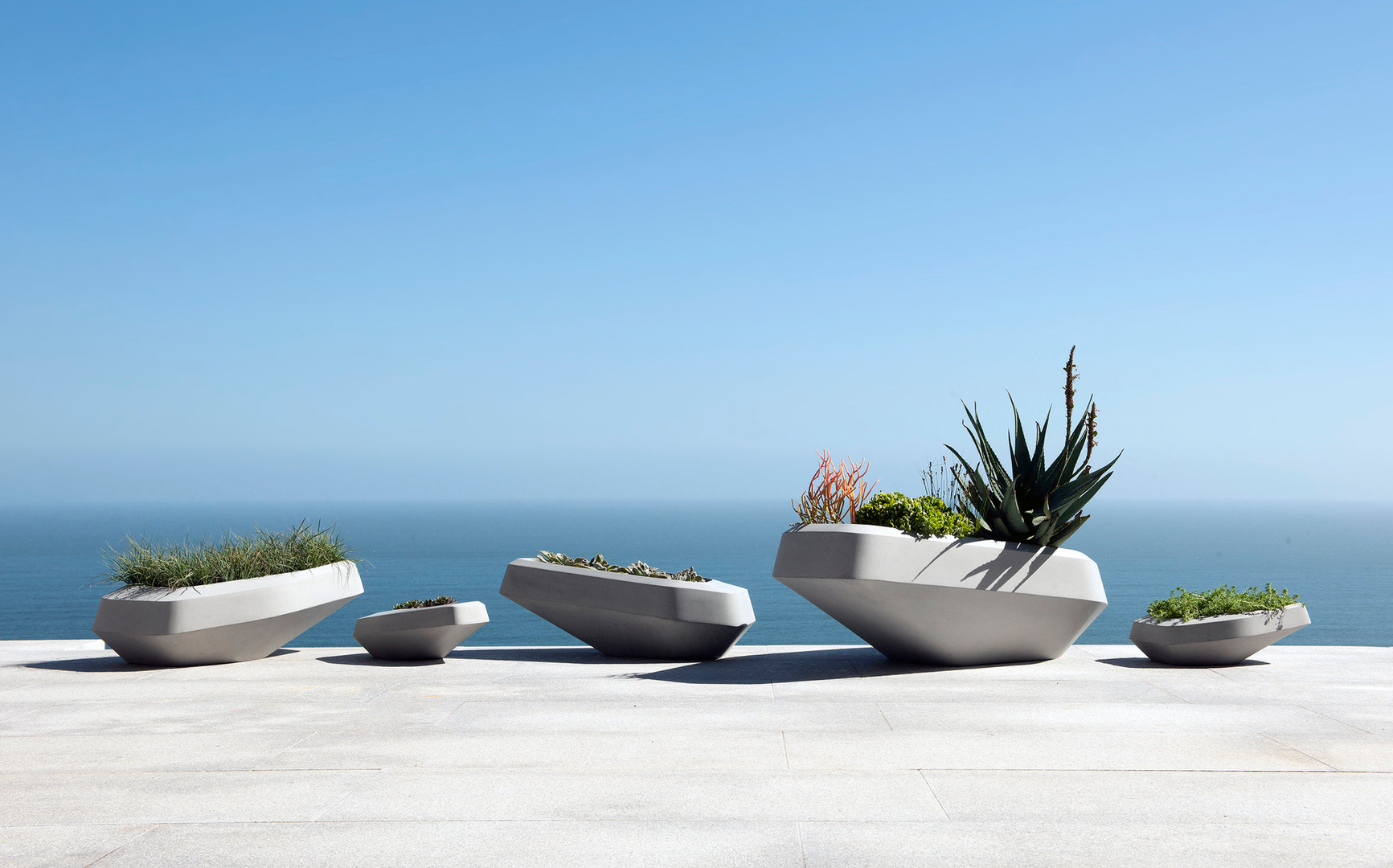 Steen Planters by SAOTA for Indigenus