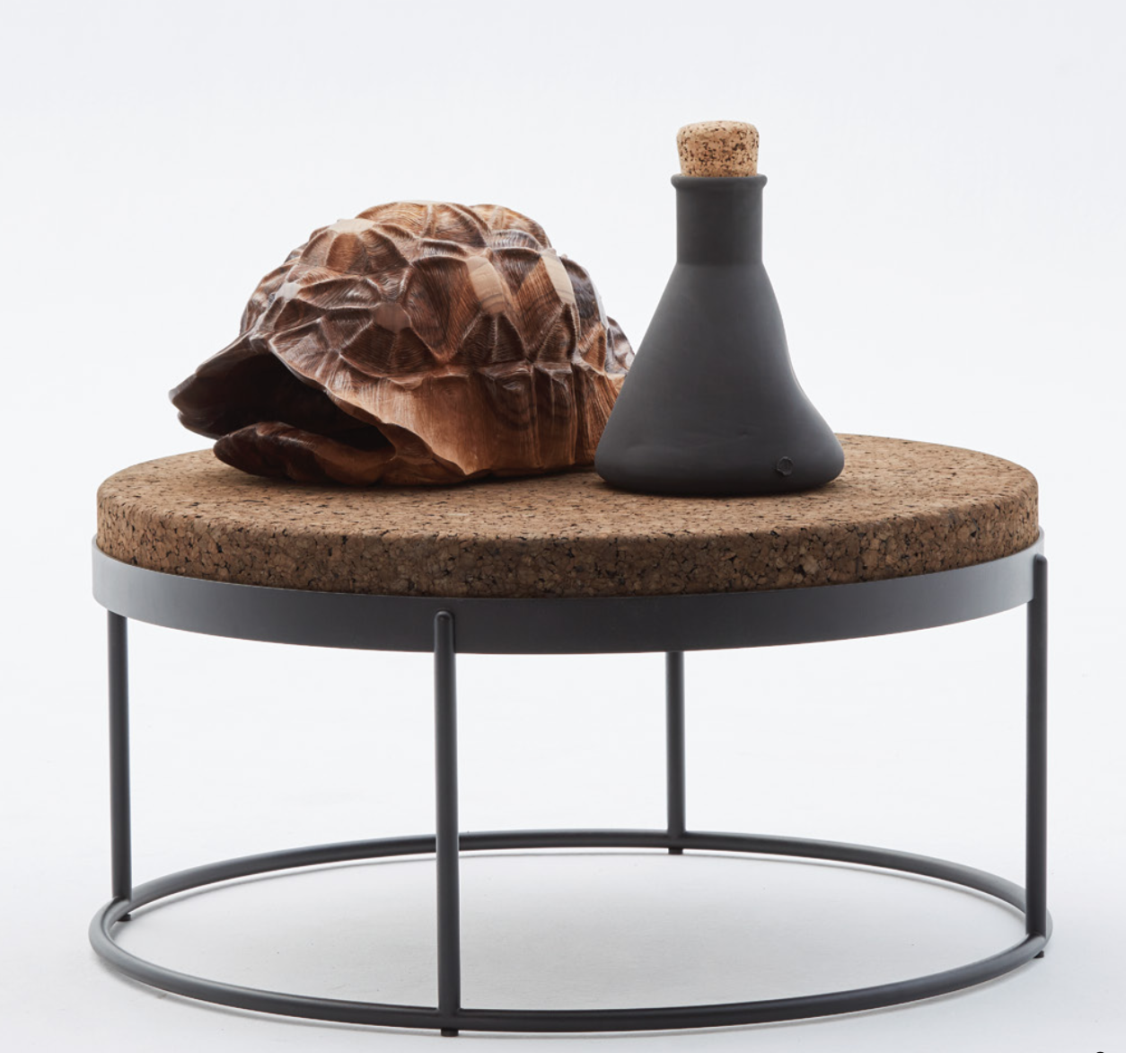 Tortoise Shell & Warped Lab Vase Low res