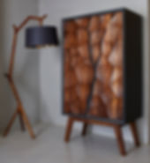Mud drinks cabinet with Umthi Hanging la