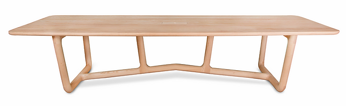 Contemporary African solid oak dining table 10 seater spain belgium france