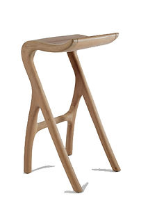 Oak umthi barstool by meyer von wielligh