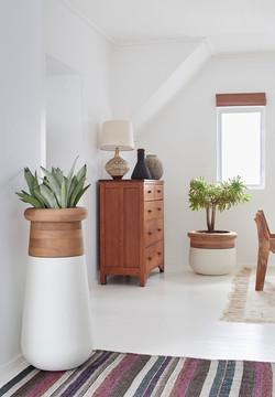 Soma Slim XS & Soma XS Wood Top Natural in White