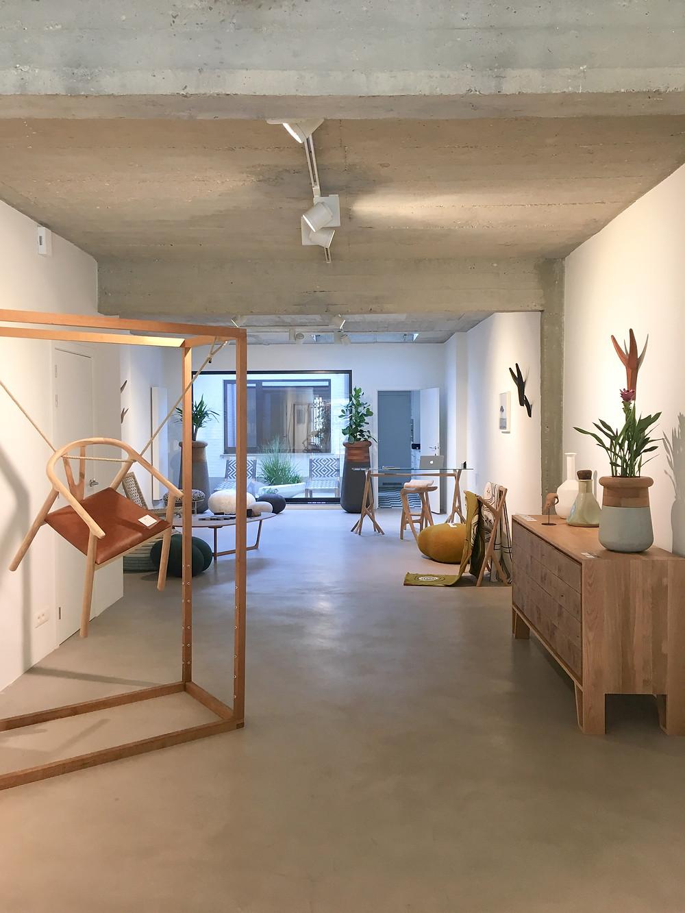 mimic, showcase, exhibition, antwerp, furniture, interior design, gallery, leopoldstraat, planters, decor, lighting, exhibition