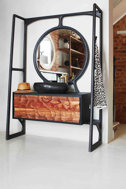 Bathroom vanity with mirror by Meyer Von Wielligh