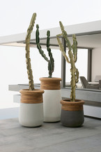 Soma Planters by Laurie Wiid Van Heerden for Indigenus