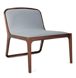 Brandberg occasional chair in walnut and luxury upholstery by david krynauw in europe france spain portugal by mimic collection of african designs and art furniture