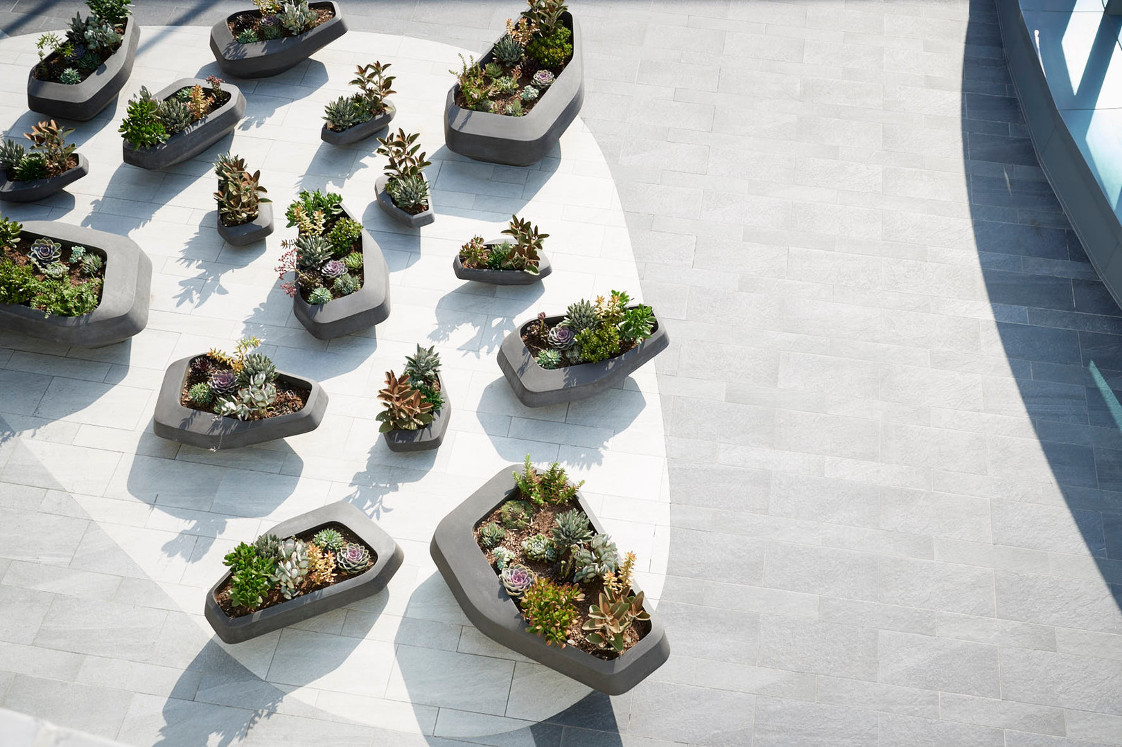 Steen Planters by Greg Truen & Stefan Antoni from SAOTA for Indigenus