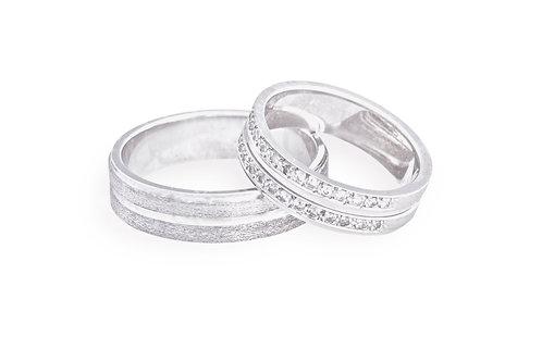 Argollas de matrimonio Diamantes para ella