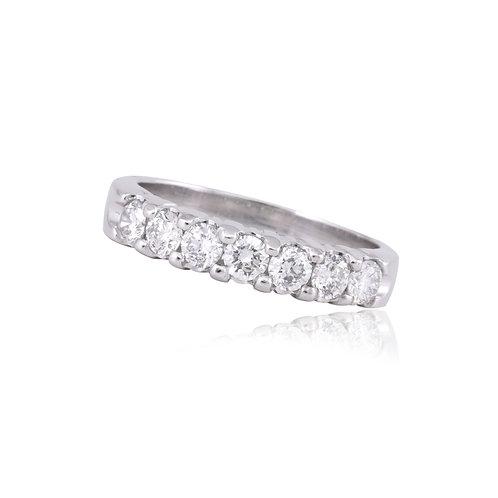 Prongs diamond band 0.70qts