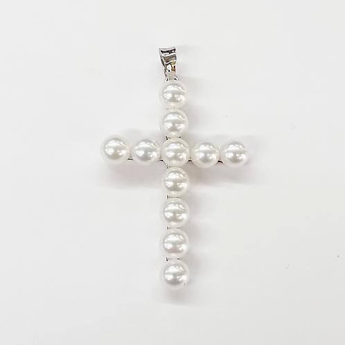 Cruz perlas cultivadas