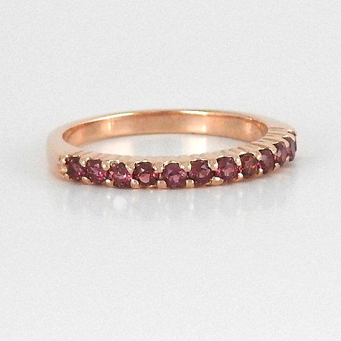 Churumbela oro rosa Granate Rodolita