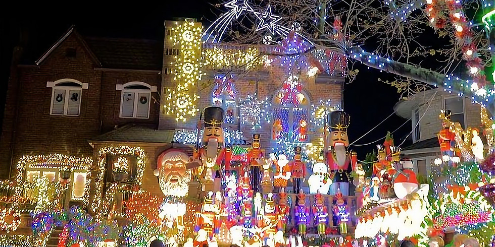Dyker Heights Holiday Lights Tour 2019 (Trip 1)