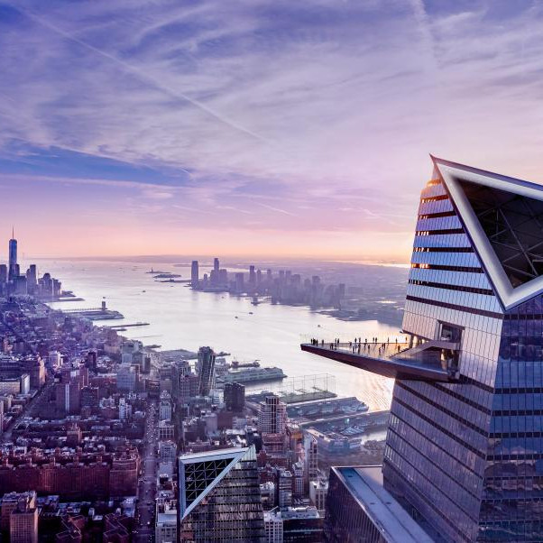 Little Island, The Edge and Hudson Yards