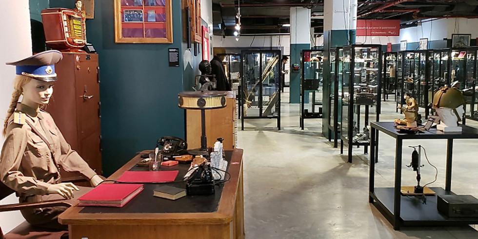 The Auschwitz Exhibition and KGB Spy Espionage Museum Tour
