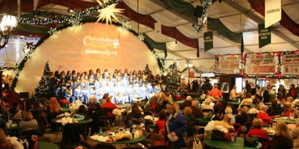 Christkindlmarkt, Bethlehem, & Koziar's Christmas Village in Pennsylvania