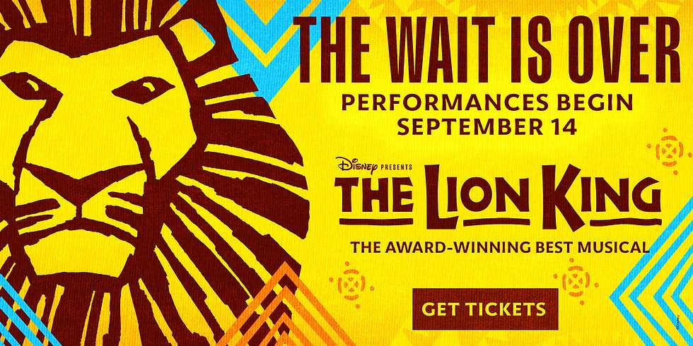 Lion King Live Broadway show
