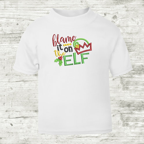 Blame It On The Elf T-shirt