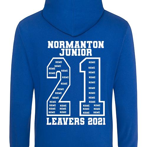 Normanton Junior Academy 2021 Leavers Hoodies