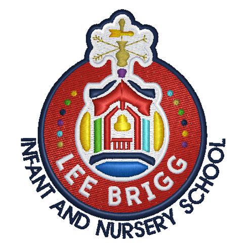 Embroidered School Logo - Lee Brigg Infants School