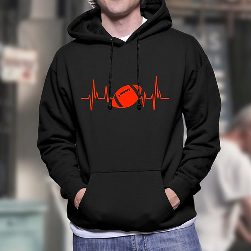 Heartbeat Rugby Hoodie