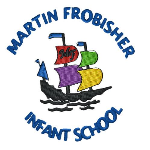 Embroidered School Logo - Martin Frobisher Infants School
