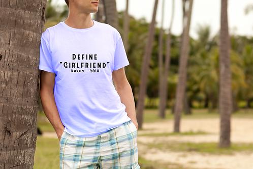 "Define ""Girlfriend"" Mens Holiday T-Shirt"