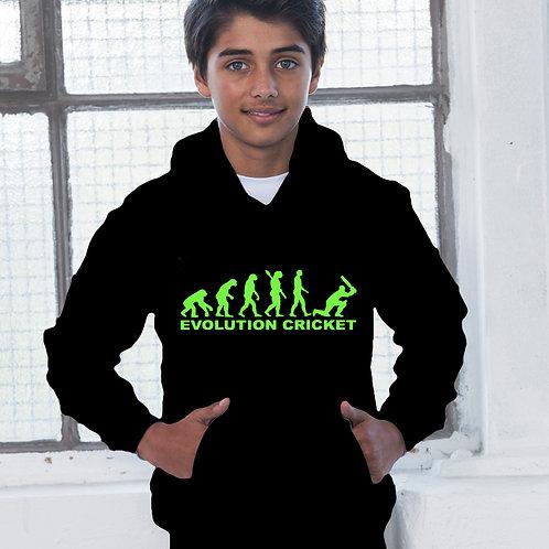 Evolution Cricket Childrens Hoodie