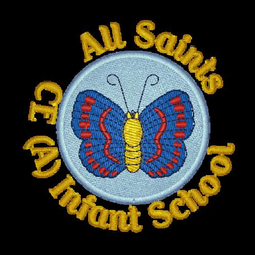 Embroidered School Logo - Normanton All Saints School