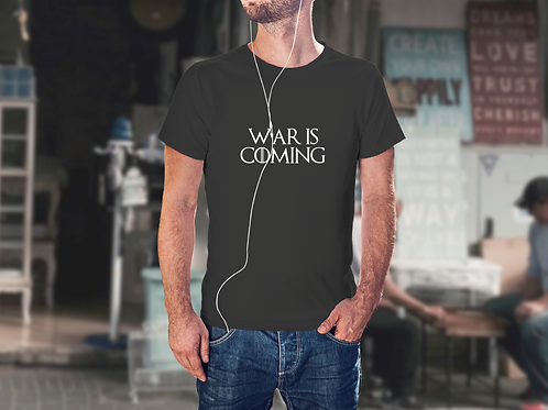 War is Coming - Game of Thrones Inspired Men's T-Shirt